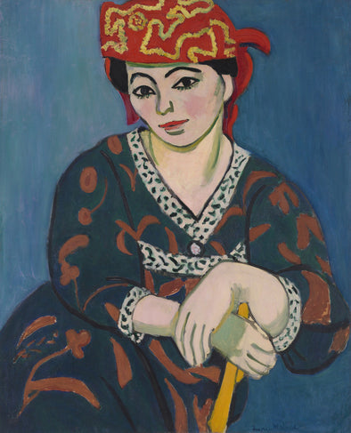 Henri Matisse - Red Madras Headdress