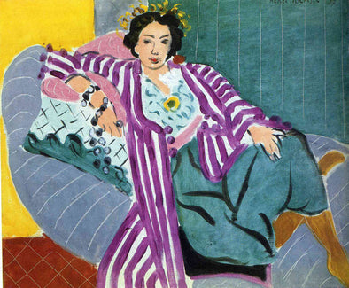 Henri Matisse - Small Odalisque in Purple Robe