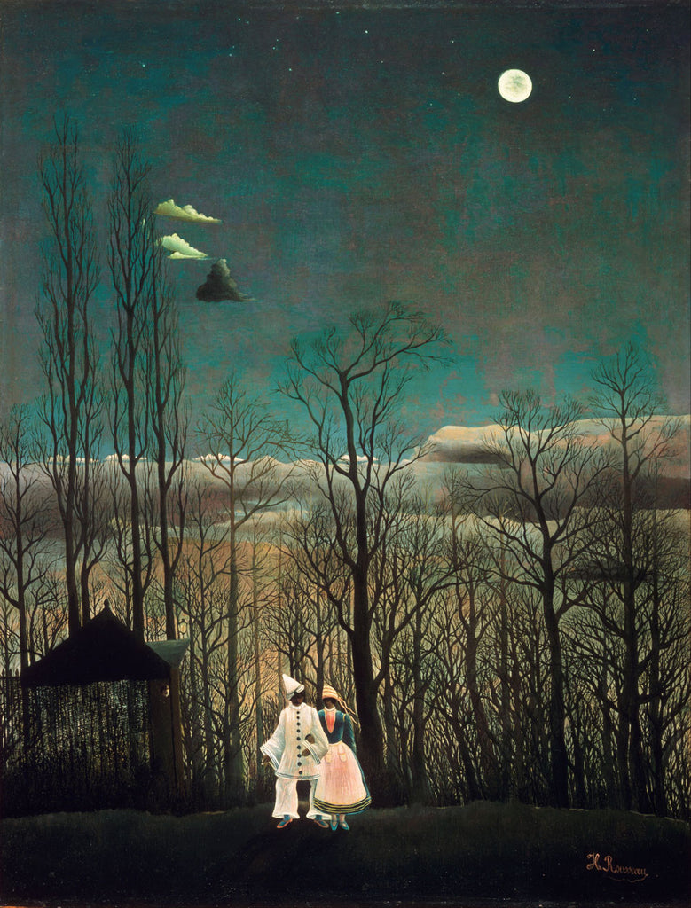 Henri Rousseau - French Carnival Evening