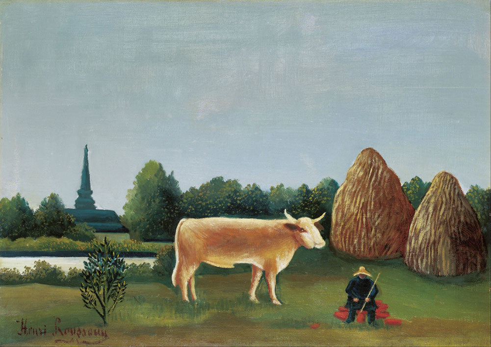Henri Rousseau - Scene in Bagneux on the Outskirts of Paris