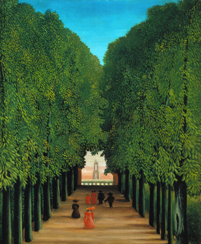 Henri Rousseau - The Avenue in the Park at Saint Cloud