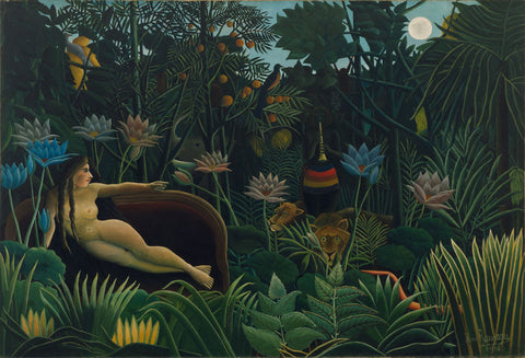 Henri Rousseau - Le Rêve, The Dream