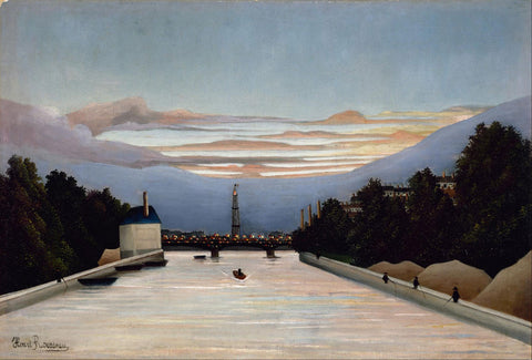 Henri Rousseau - The Eiffel Tower