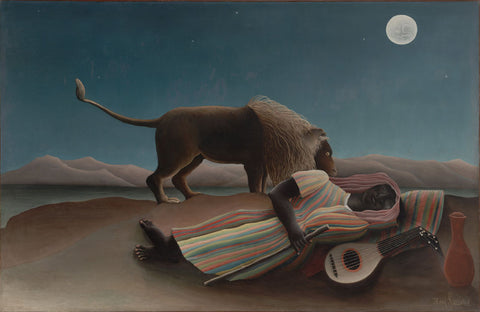 Henri Rousseau - La Bohémienne endormie, The Sleeping Gypsy