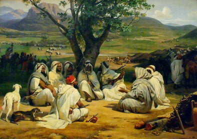Horace Vernet - Arab Chieftains in Council (The Negotiator)