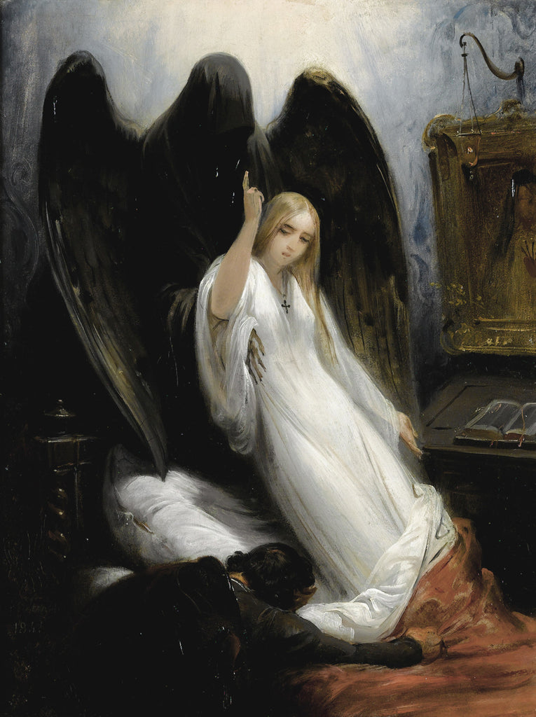 Horace Vernet - The Death Angel or Death and the Maiden