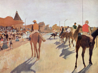 Edgar Degas - Horse Racing