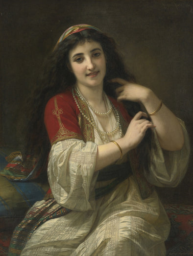 Hugues Merle - A Turkish Beauty