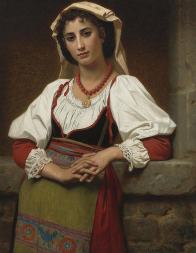 Hugues Merle - The Neapolitan Girl
