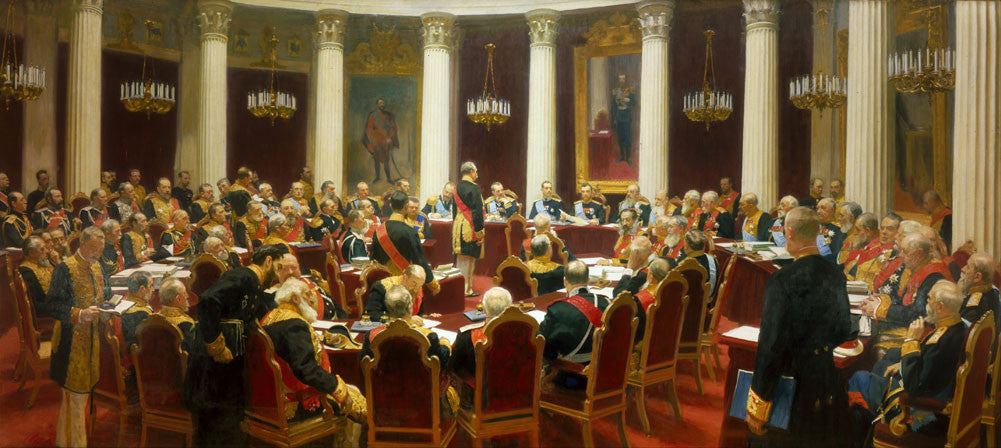 Ilya Repin - Ceremonial Sitting of the State Council