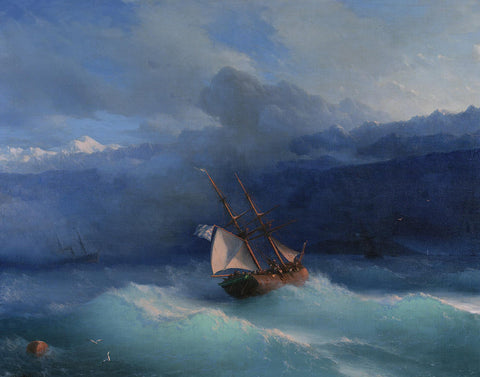 Ivan Konstantinovich Aivazovsky - Along the Coast