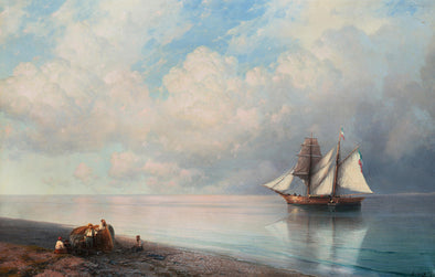 Ivan Konstantinovich Aivazovsky - Calm Early Evening Sea