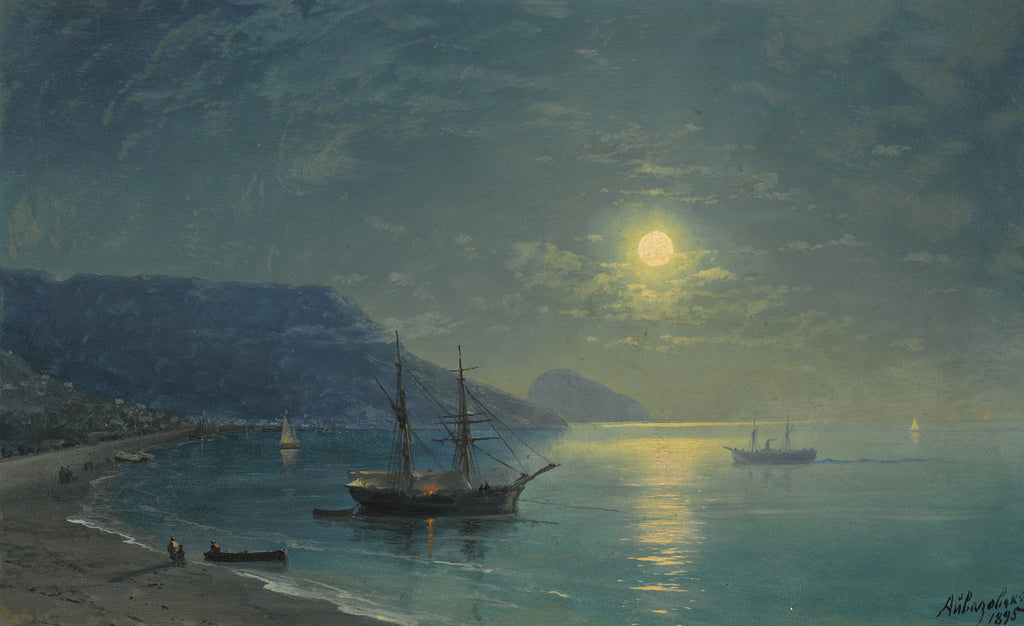 Ivan Konstantinovich Aivazovsky - Evening in Crimea