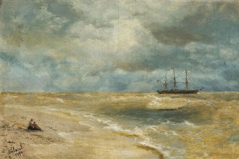 Ivan Konstantinovich Aivazovsky - Seascape with Boat