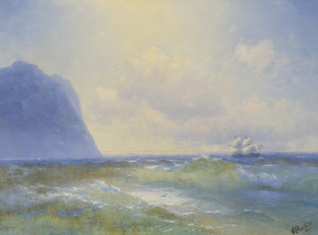 Ivan Konstantinovich Aivazovsky - Ship at Sea