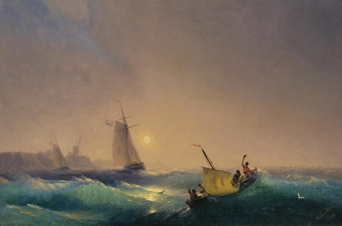 Ivan Konstantinovich Aivazovsky - Shipping off the Dutch Coast