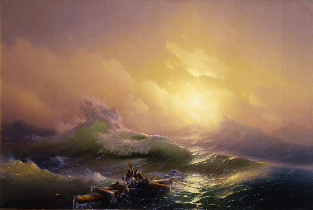 Ivan Konstantinovich Aivazovsky - The Ninth Wave