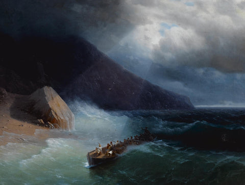 Ivan Konstantinovich Aivazovsky - The Survivors