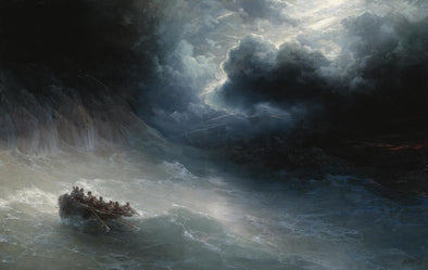 Ivan Konstantinovich Aivazovsky - The Wrath of the Seas