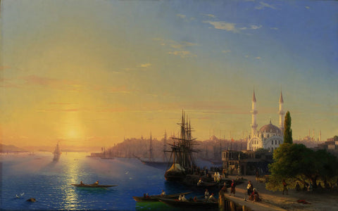 Ivan Konstantinovich Aivazovsky - View of Constantinople and the Bosphorus