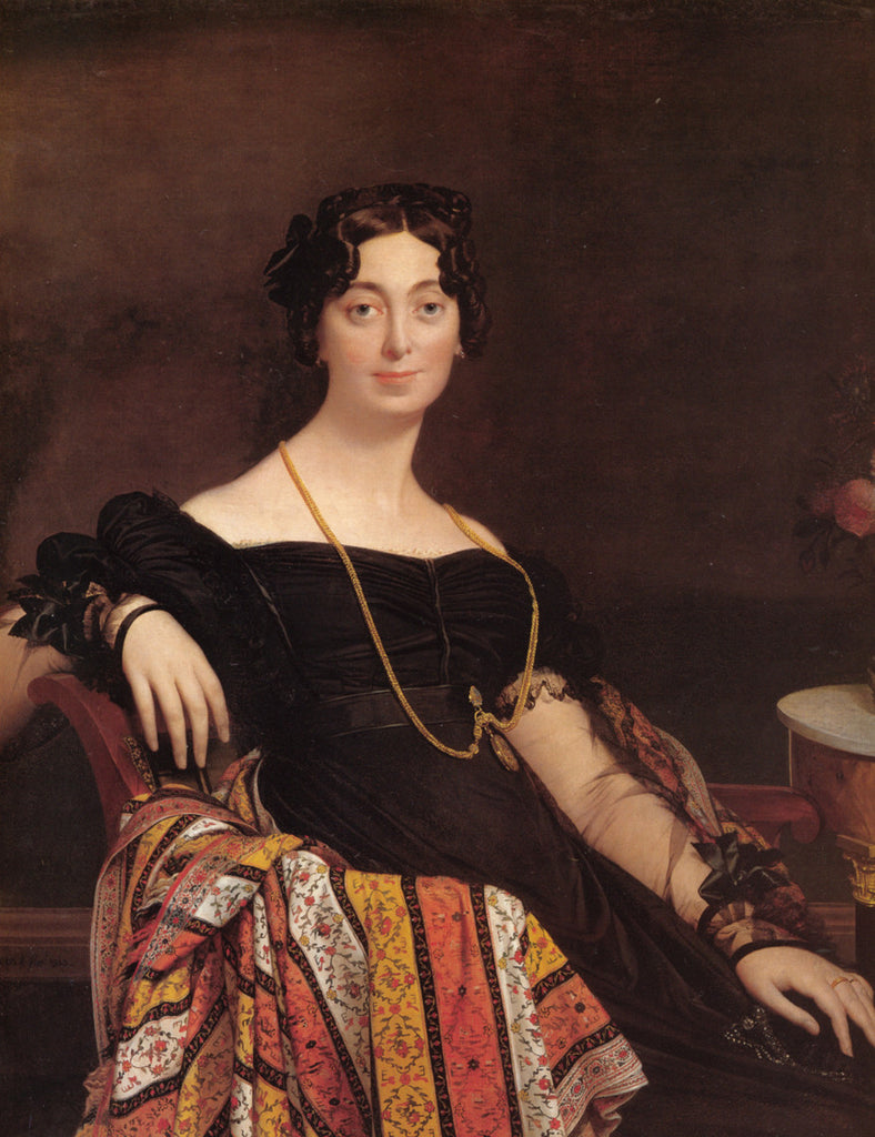 Jean-Auguste-Dominique Ingres - Madame Jacques-Louis Leblanc
