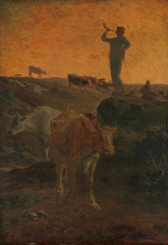 Jean-François Millet - Calling the Cows Home