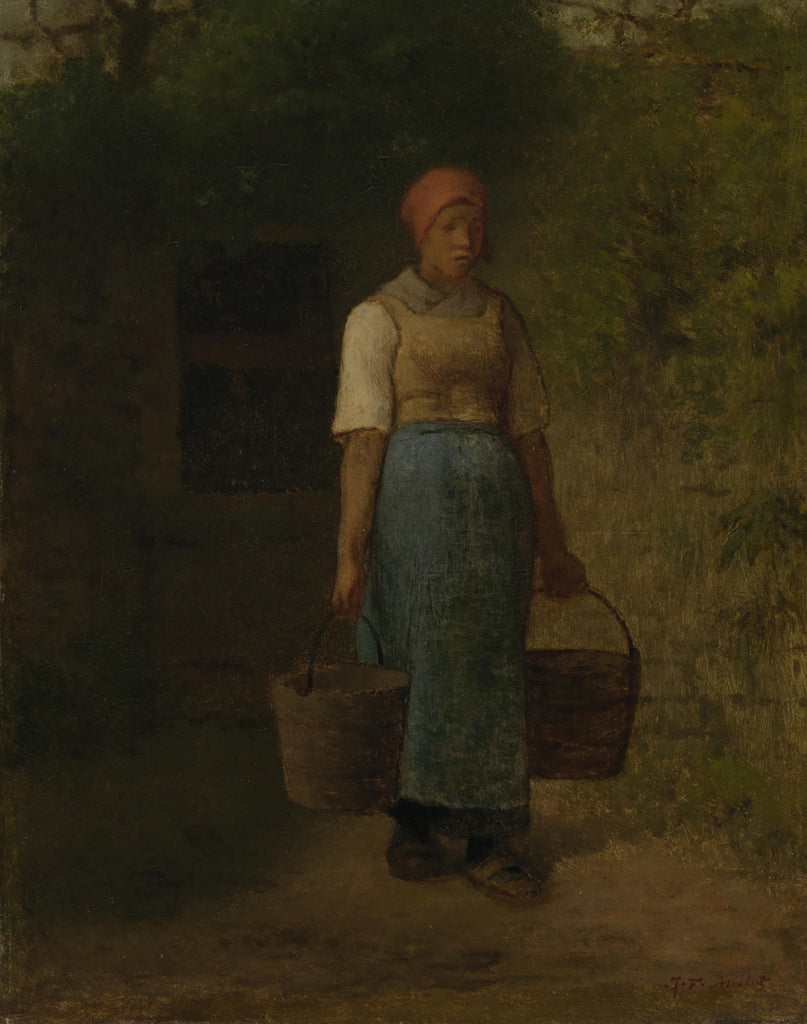 Jean-François Millet - Girl Carrying Water