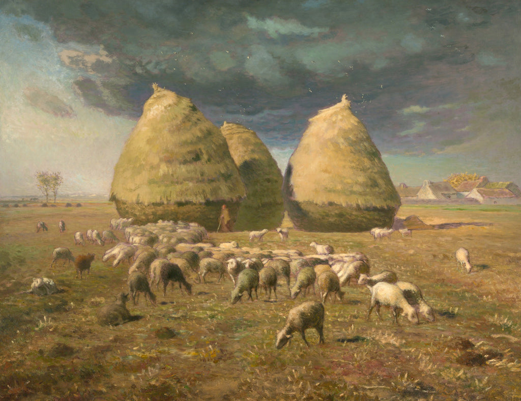 Jean-François Millet - Haystacks, Autumn