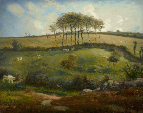 Jean-François Millet - Pasture near Cherbourg (Normandy)