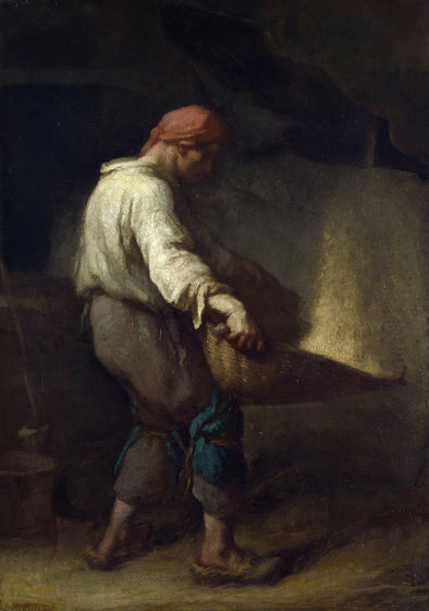 Jean-François Millet - The Winnower