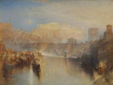 Joseph Mallord William Turner - Ancient Rome Agrippina Landing with the Ashes of Germanicus