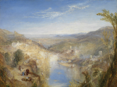 Joseph Mallord William Turner - Modern Italy the Pifferari