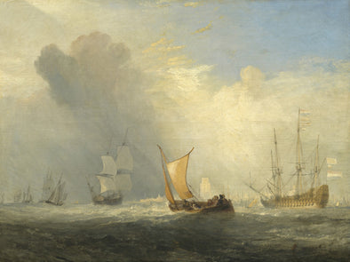 Joseph Mallord William Turner - Rotterdam Ferry Boat