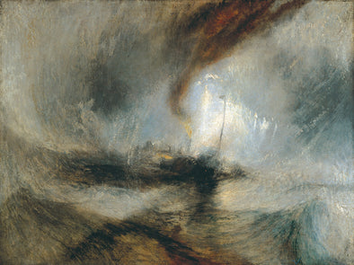 Joseph Mallord William Turner - Snow Storm Steam Boat off a Harbour's Mouth