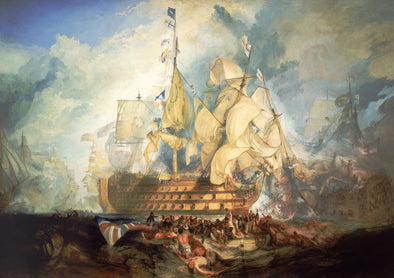 Joseph Mallord William Turner - The Battle of Trafalgar