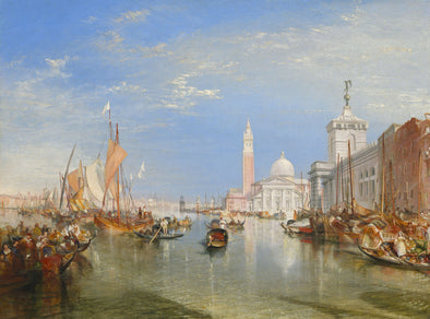 Joseph Mallord William Turner - The Dogana and San Giorgio Maggiore