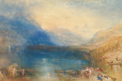 Joseph Mallord William Turner - The Lake of Zug