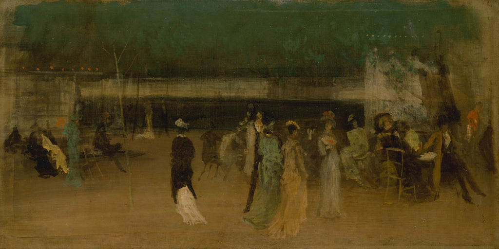 James Abbott McNeill Whistler - Cremorne Gardens, No 2