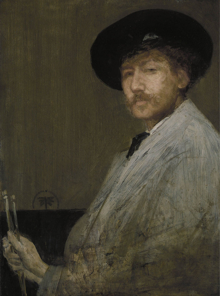 James Abbott McNeill Whistler - Self Portrait
