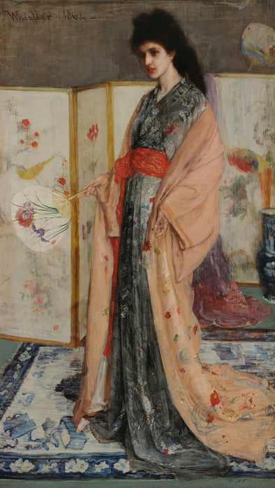 James Abbott McNeill Whistler - The Princess from the Land of Porcelain