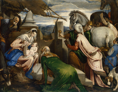 Jacopo Bassano - Adoration of the Magi