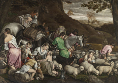 Jacopo Bassano - Jacob's Journey