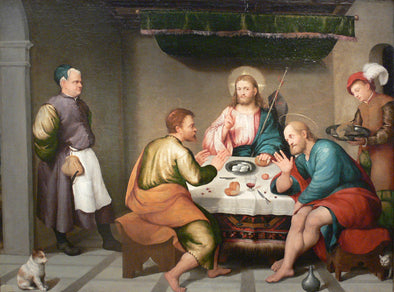 Jacopo Bassano - Supper at Emmaus Kimbell