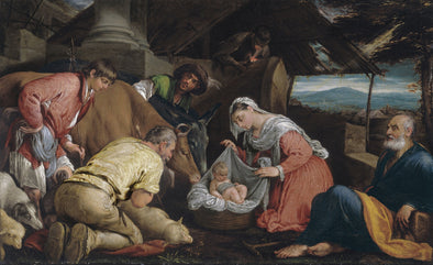 Jacopo Bassano - The Adoration of the Shepherds