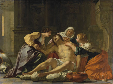 Jacques Blanchard - St Sebastian nursed by Irene and her helpers