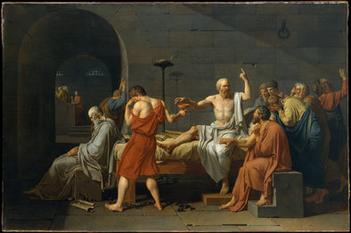 Jacques Louis David - The Death of Socrates