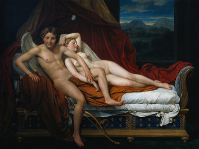 Jacques-Louis David - Cupid and Psyche