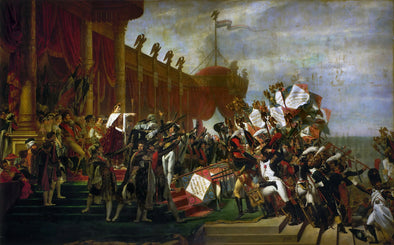 Jacques-Louis David - Oath of Troops to the Emperor after the Deal Eagles