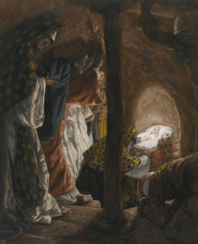 James Tissot - Adoration of the Magi