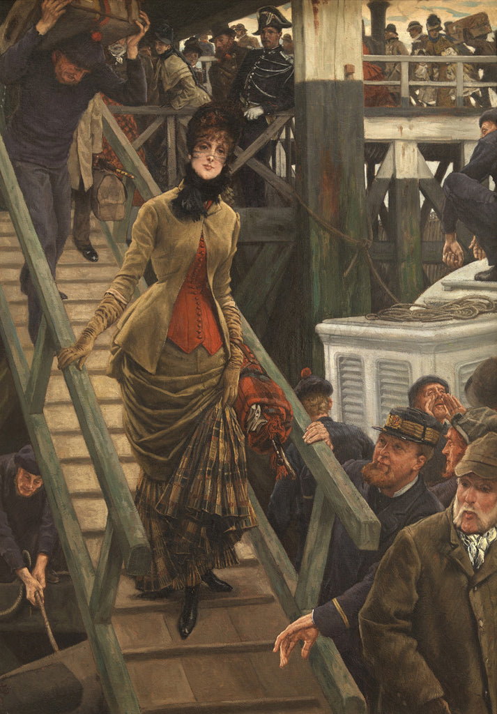 James Tissot - Embarkation at Calais